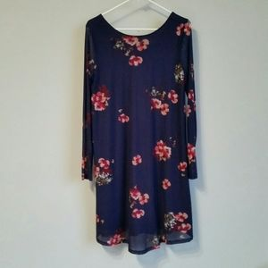 Isabel Maternity Long Sleeve Floral Dress size S